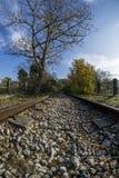 Estrada de ferro abandonada Imagem de Stock Royalty Free