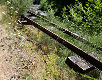 Estrada de ferro abandonada Imagens de Stock