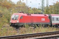 Estrada de ferro alemão Foto de Stock Royalty Free