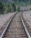 A estrada de ferro cênico viaja ao país ocidental selvagem Foto de Stock