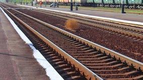 A estrada de ferro - como uma imagem, uma imagem do modo de vida video estoque