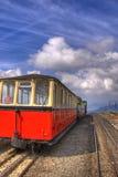 Estrada de ferro da montanha de Snowdon foto de stock royalty free