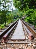 Estrada de ferro da morte Imagens de Stock