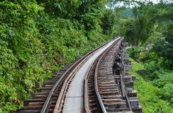 Estrada de ferro da morte Fotos de Stock Royalty Free