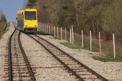 Estrada de ferro de funicular Imagens de Stock Royalty Free