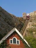 Estrada de ferro de funicular Hastings Imagem de Stock Royalty Free