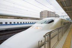Estrada de ferro de Japão no Tóquio, Japão Fotos de Stock