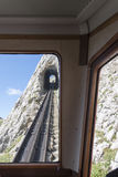 Estrada de ferro de Pilatus, Suíça Fotos de Stock Royalty Free