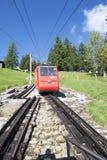 Estrada de ferro de Pilatus, Suíça Fotos de Stock