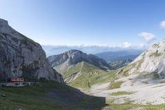 Estrada de ferro de Pilatus, Suíça Foto de Stock
