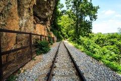 Estrada de ferro de Tailândia Foto de Stock