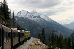 Estrada de ferro de Yukon Foto de Stock Royalty Free