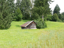 Estrada de ferro de Zugspitze, bavaria, Alemanha Fotografia de Stock Royalty Free