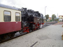 A estrada de ferro do calibre estreito de Harz Fotos de Stock Royalty Free