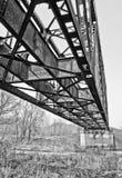 Estrada de ferro do metal pesado Imagens de Stock
