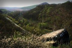 Estrada de ferro do norte de Boêmia Fotografia de Stock