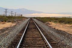 Estrada de ferro do Pacífico da união fotos de stock royalty free
