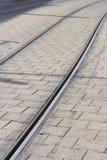 Estrada de ferro do Tramway Fotos de Stock