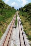 Estrada de ferro do trem imagens de stock royalty free