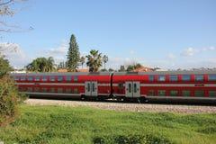Estrada de ferro e trem Fotos de Stock Royalty Free