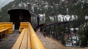Estrada de ferro histórica Imagem de Stock Royalty Free