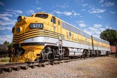 Estrada de ferro histórica Fotografia de Stock