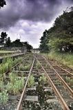 Estrada de ferro irlandesa Fotografia de Stock Royalty Free
