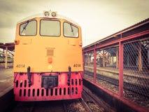 Estrada de ferro locomotiva Fotografia de Stock