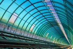 Estrada de ferro metropolitana Fotografia de Stock