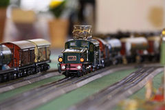 Estrada de ferro modelo Imagens de Stock Royalty Free