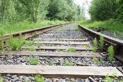 Estrada de ferro Mova-se para a frente! Imagem de Stock Royalty Free