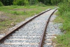 Estrada de ferro Mova-se para a frente! Fotografia de Stock Royalty Free
