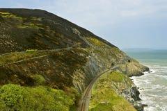 Estrada de ferro nas montanhas Imagem de Stock Royalty Free