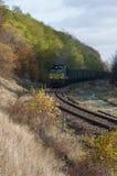 A estrada de ferro no Polônia Fotografia de Stock