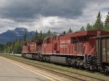 Estrada de ferro pacífica canadense Foto de Stock Royalty Free