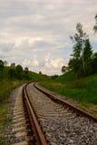 Estrada de ferro Perigo batente Fotografia de Stock