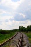 Estrada de ferro Perigo batente Imagem de Stock Royalty Free