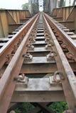 Estrada de ferro tailandesa Fotos de Stock