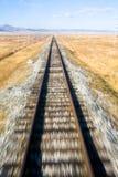 A estrada de ferro transiberiana Imagem de Stock