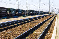 Estrada de ferro, transportando Foto de Stock