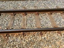 Estrada de ferro, trilhas de estrada de ferro fotos de stock