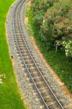 Estrada de ferro vazia Foto de Stock Royalty Free