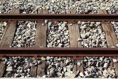Estrada de ferro velha Foto de Stock