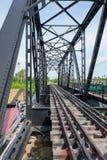 Estrada de ferro velha Imagem de Stock