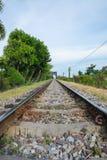 Estrada de ferro velha Imagens de Stock