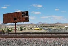 Estrada de ferro velha Imagens de Stock Royalty Free
