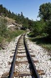 Estrada de ferro velha fotos de stock royalty free