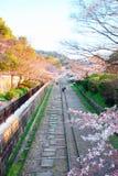 Estrada de ferro velha de Kyoto Fotografia de Stock