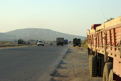 Estrada de Gobustan Imagem de Stock