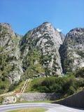 Estrada de Gotthard fotografia de stock royalty free